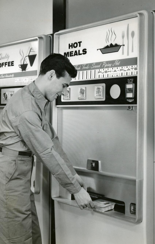 hot meals vending machines