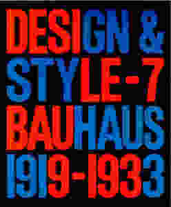 Design & Style Cover 7 Bauhaus