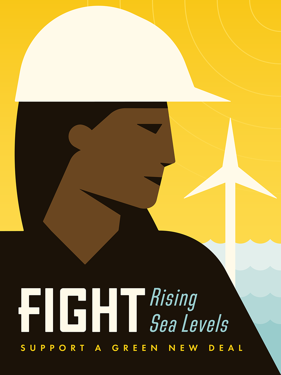 Creative Action Network has a series of posters on the Green New Deal.