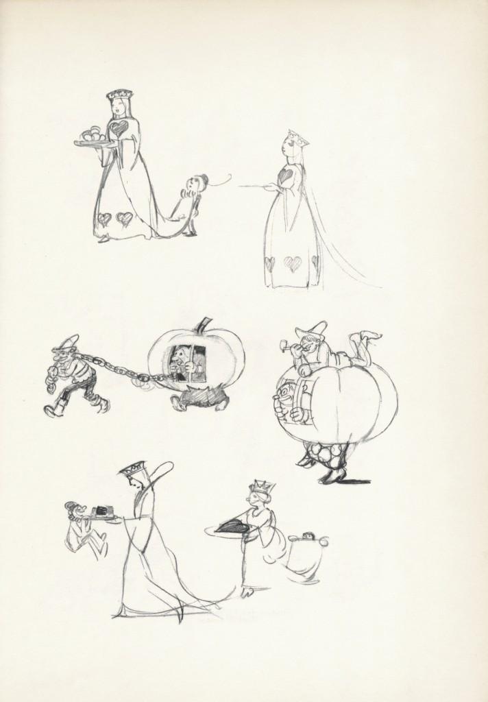 Albert Hurter drawings
