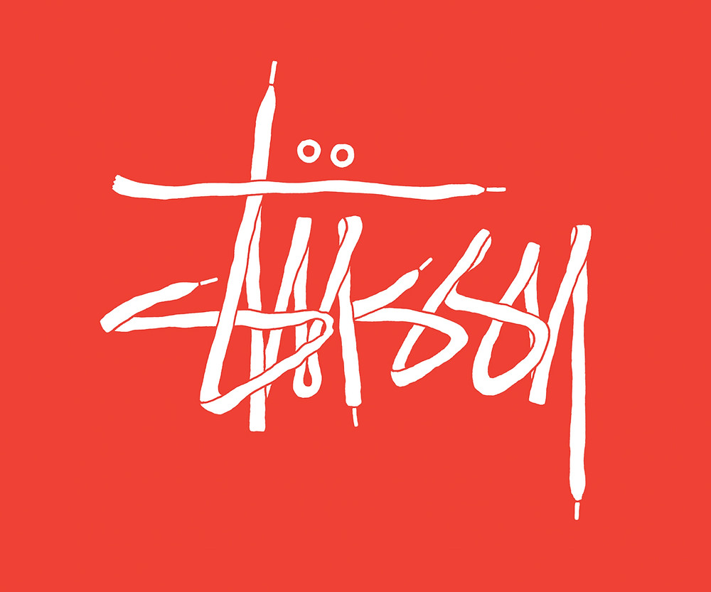 Stussy laces logo by Alex Robbins