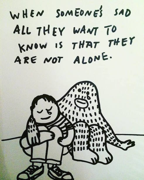 Frank not alone