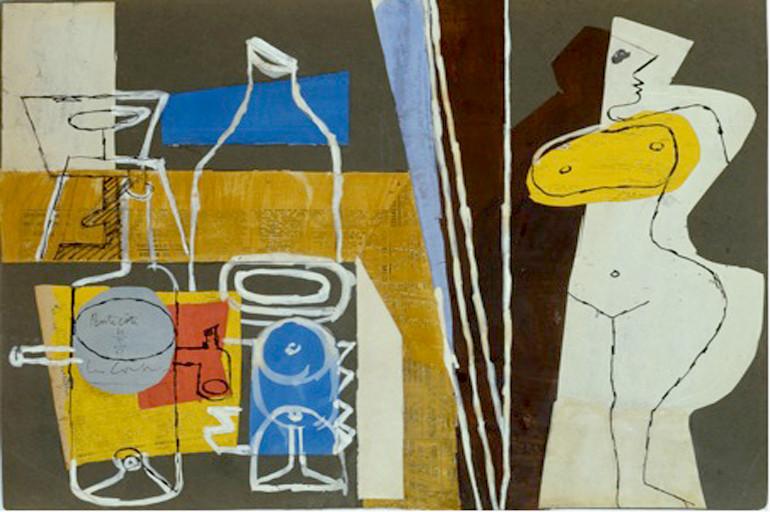 """""""Madame, la table est dressée"""" (the table is set), 1961"""