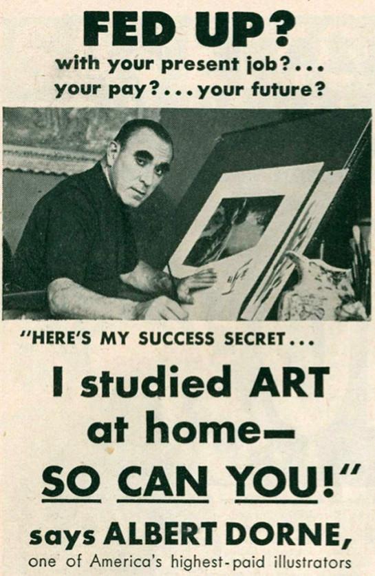 Albert-Dorne-AD, Elwood Smith