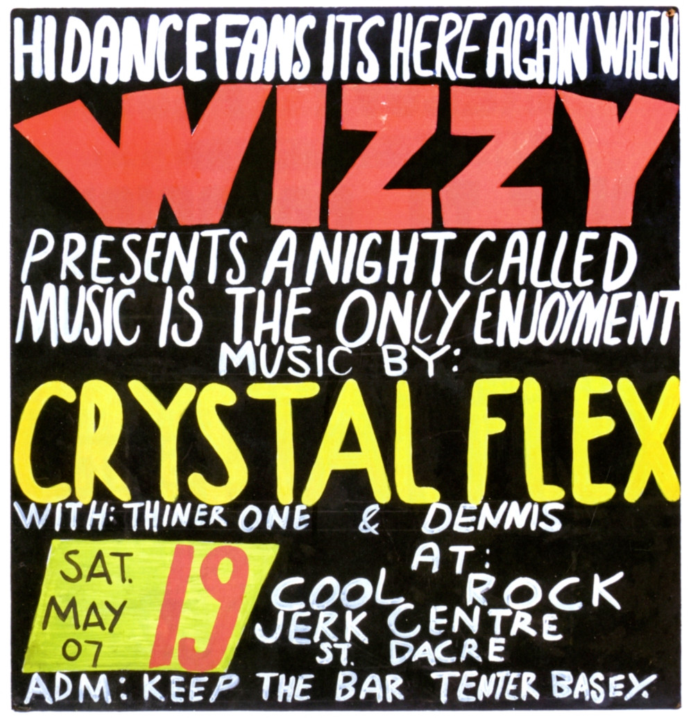 Serious Things aGo Happen: Three Decades of Jamaican Dancehall Signs