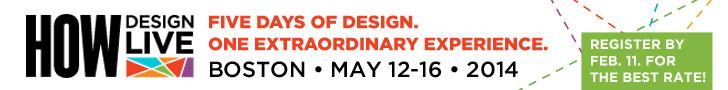 HOW Design LIVE 2014