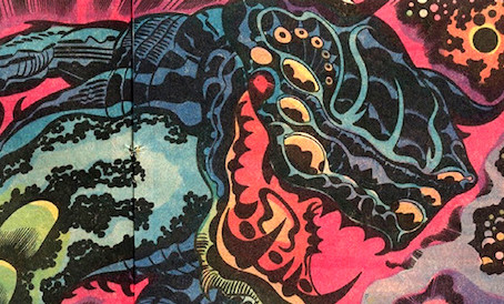 Design Influence & Inspiration in Jack Kirby's Comic Art