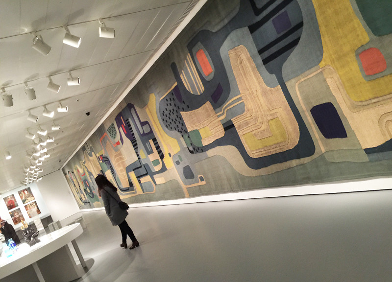 wool tapestry created by Burle Marx