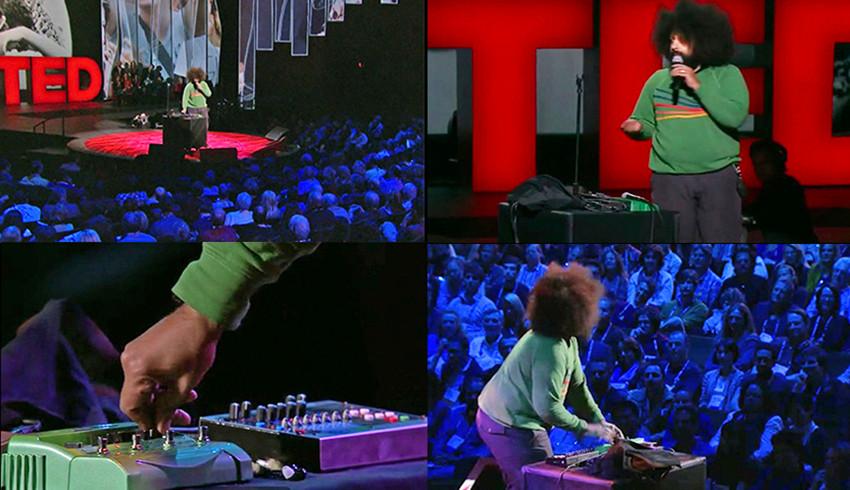 TED talk,  jam with Reggie