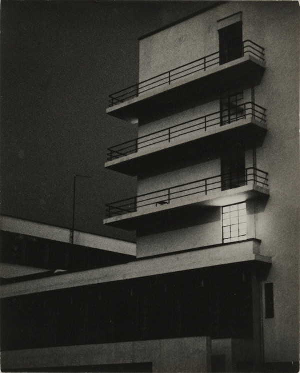 Bauhaus, March 26, 1929. Gelatin silver print, 7 1/16 x 5 5/8 in. Credit: Bauhaus-Archiv Berlin. © Artists Rights Society, New York / VG Bild-Kunst, Bonn.