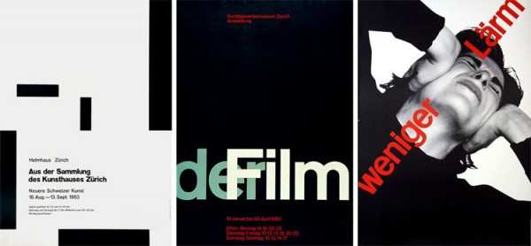 Works by Josef Müller-Brockmann/Images from Design History