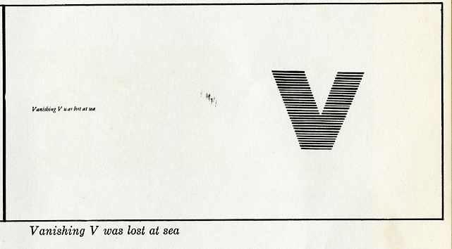 vanishing v was lost at sea