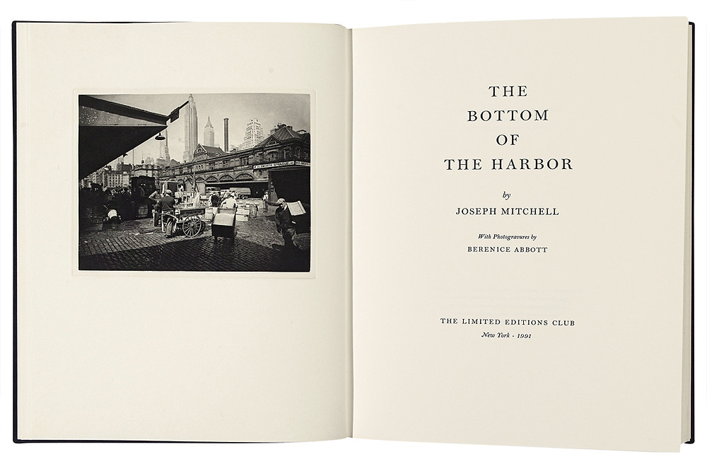The Bottom of the Harbor. Image courtesy Swann Galleries
