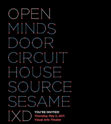 open minds door circuit house source sesame IXD