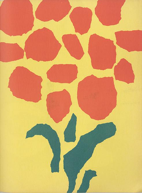 Leo Lionni color paper ad insert
