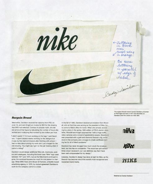 Nike Swoosh Sketch