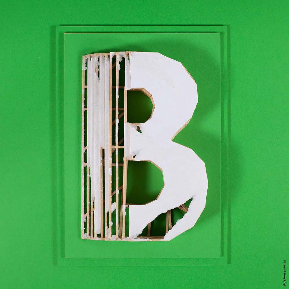 "Jerome Corgier ""ArchiLetters"" - B"