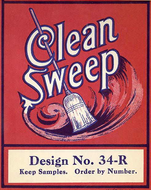 Broom- Design No. 34-R