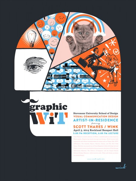 Graphic Wit Poster