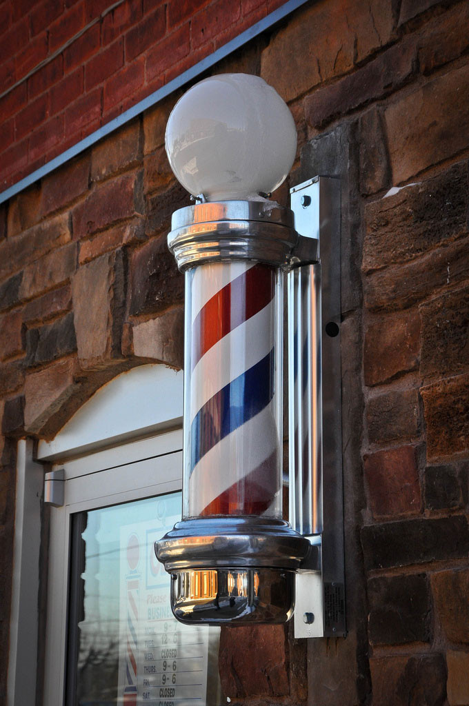Barber pole by Valerie Everett on Flickr: http://bit.ly/1nswC2J