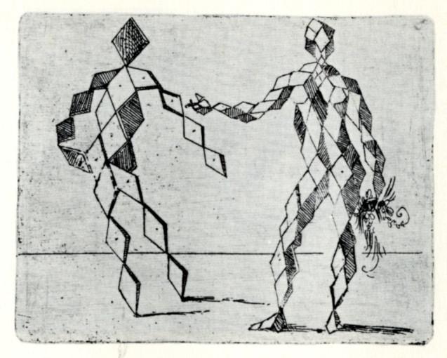 modernistic book of prints Bizzarie di Varie Figure
