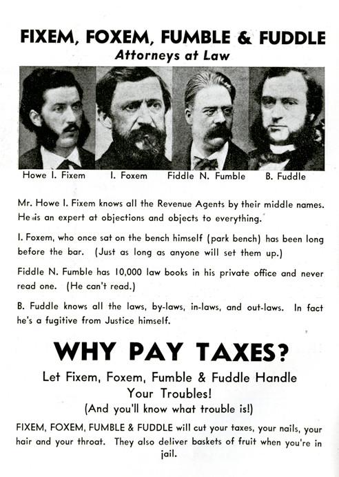 Fixem, Foxem, Fumble, & Fuddle