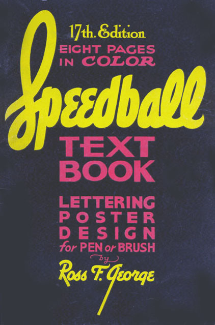 Speedball Text Book 17th Edition