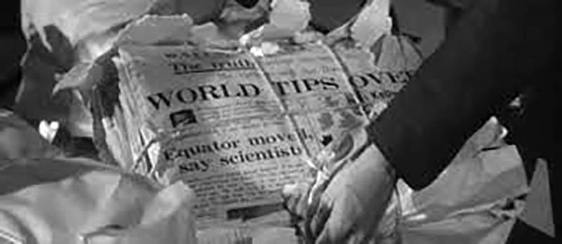 Ruin newspaper