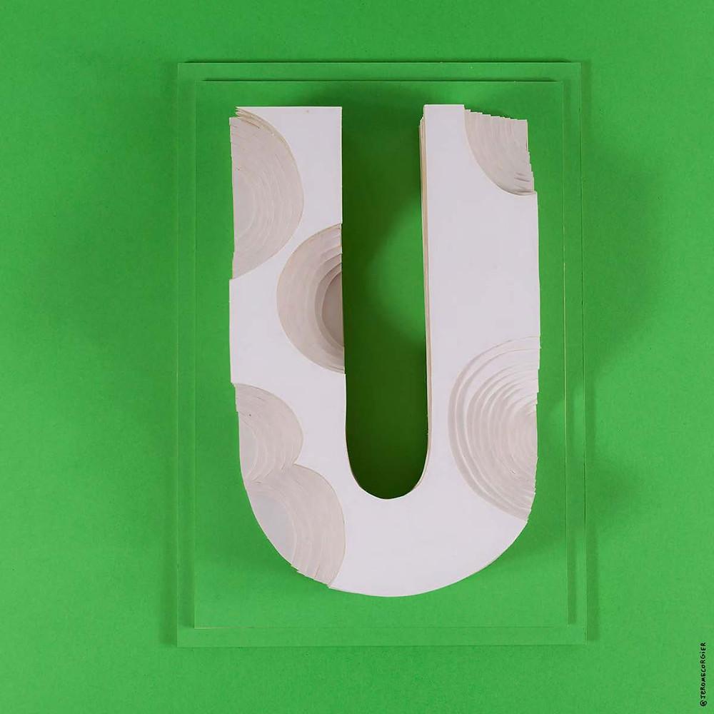 """Jerome Corgier """"ArchiLetters"""" - U"""