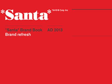 Image of the Day, 12/12/2013: Santa rebrand