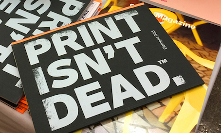 Print is NOT Dead at Designers & Books