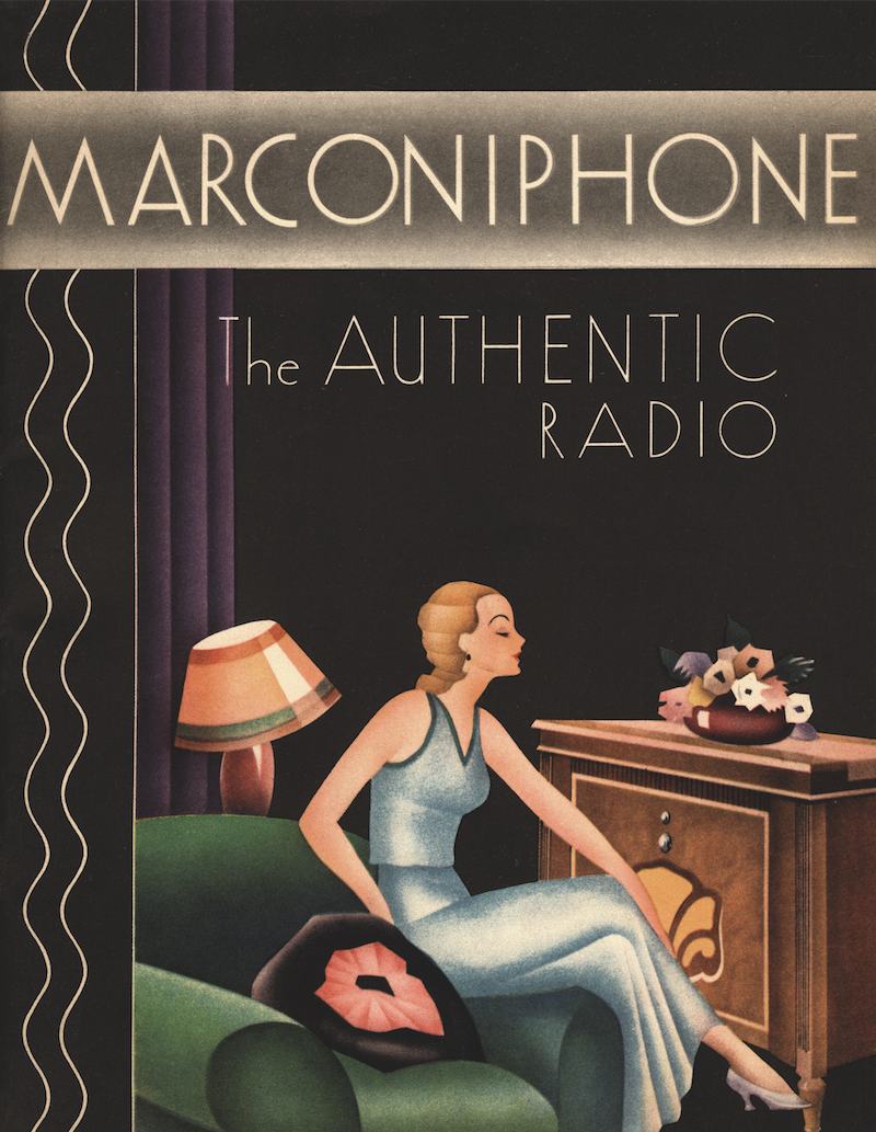 p. 156, Marconiphone Poster (1934)