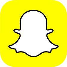 Snapchat's yellow logo