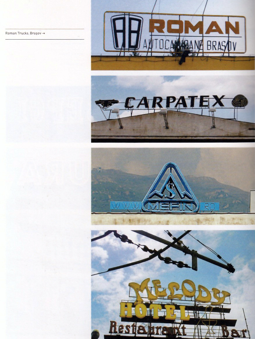A new book, Graphics Without Computer, looks at signs in Romania.