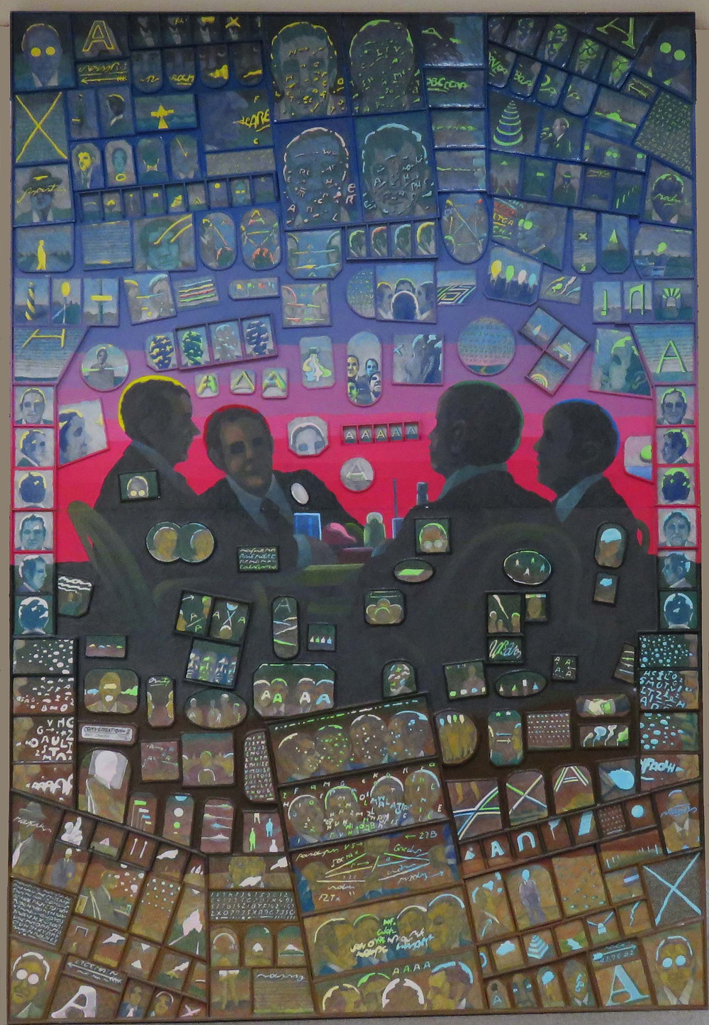 conversation -jan-sawka's painting