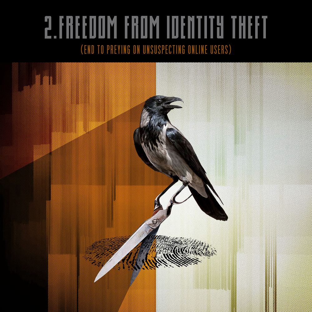 2.Freedom from identity theft