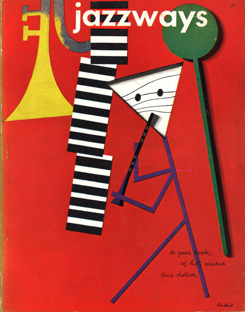 Jazzways edited by Frank Zachary, designed by Paul Rand.