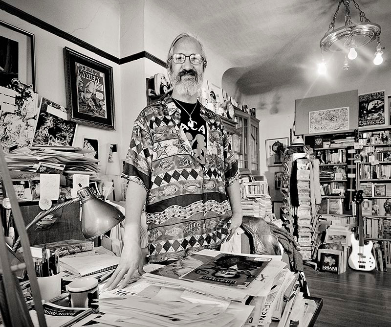 Steve Leialoha photo by Greg Preston