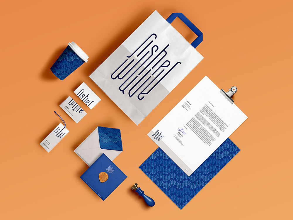 Student Designs- Fisher Wave Branding