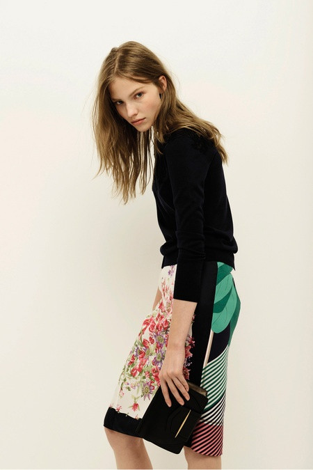 From the Nina Ricci Resort 2014 collection, via Pattern Observer's Pinterest board and Style.com: http://pinterest.com/pin/526147168937069061/