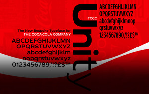The New Coca Cola Font