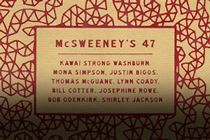 Victorian Foppishness & Making the McSweeney's Generation
