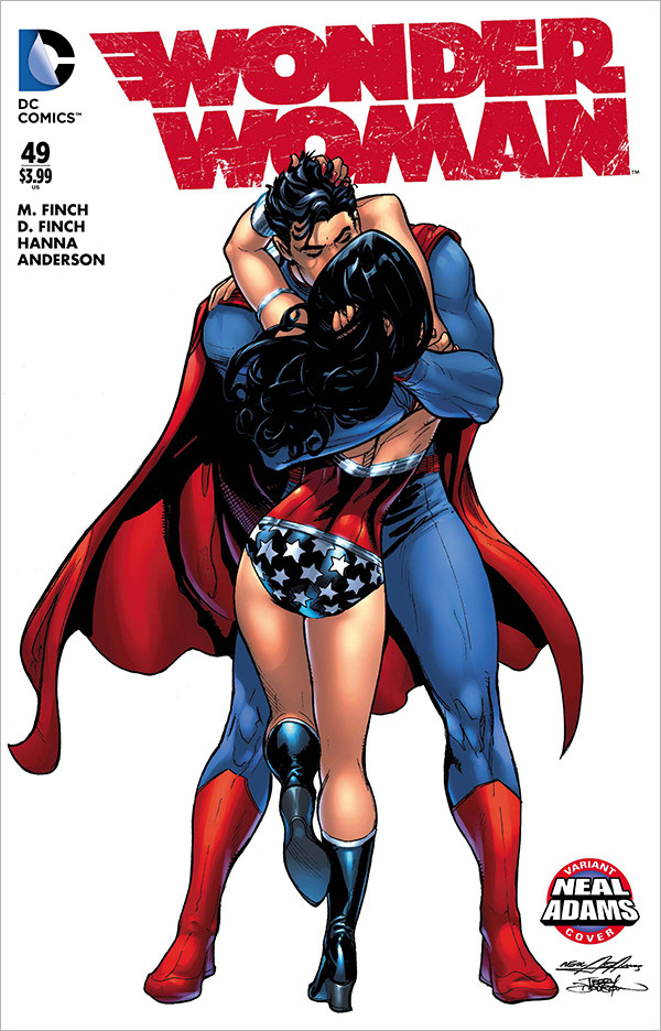 Neal Adams Wonder Woman cover