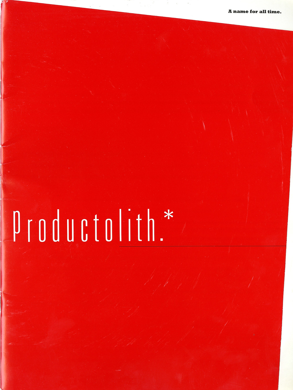 Productolith