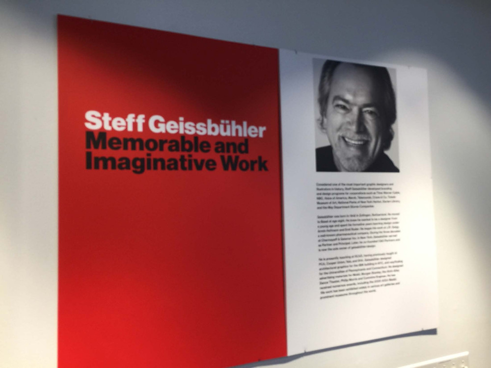The work of Steff Geissbühler is in an exhibit at RIT.