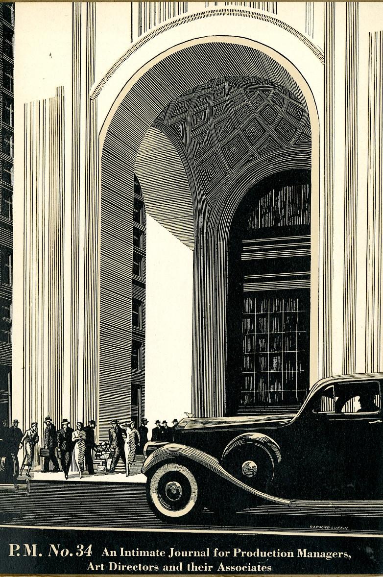 Raymond Lufkin linear drawing