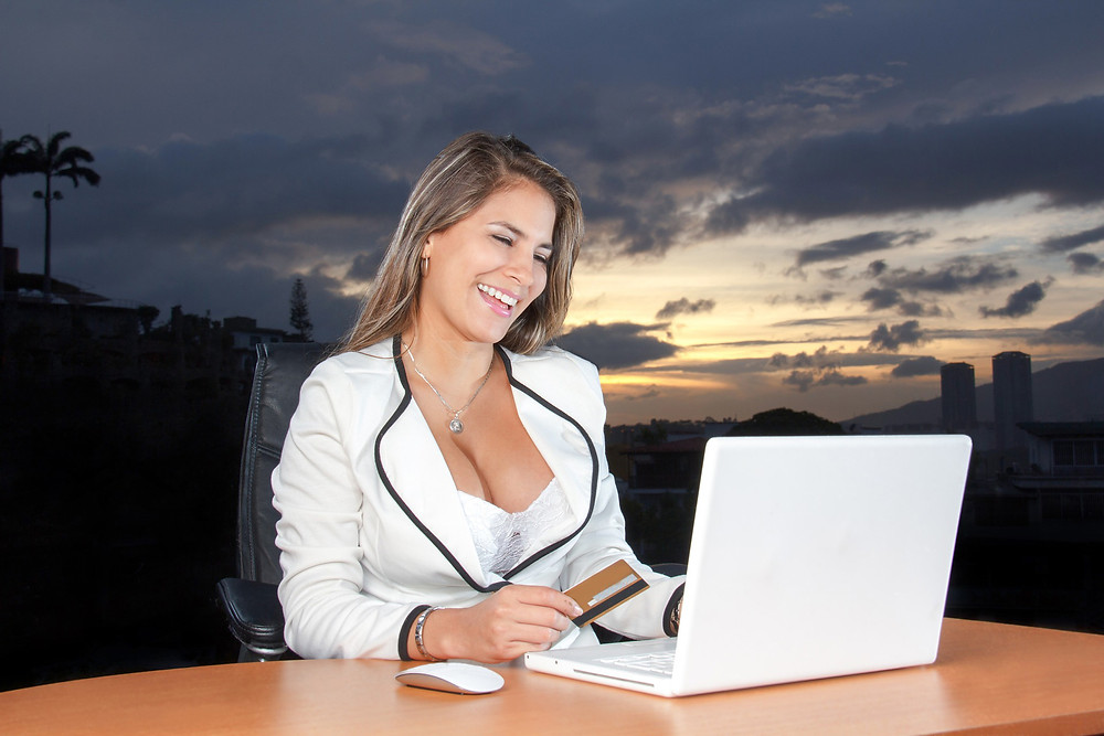 woman laptop