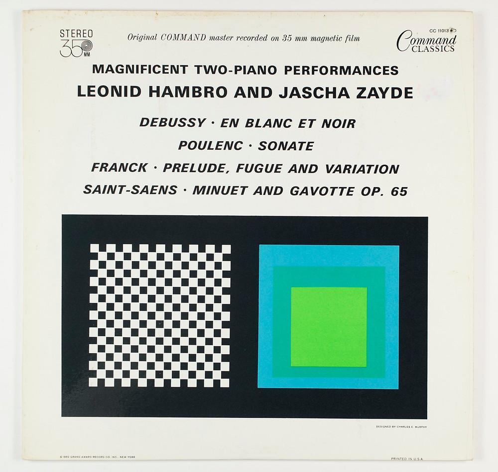 Leonid Hambro and Jascha Zayde