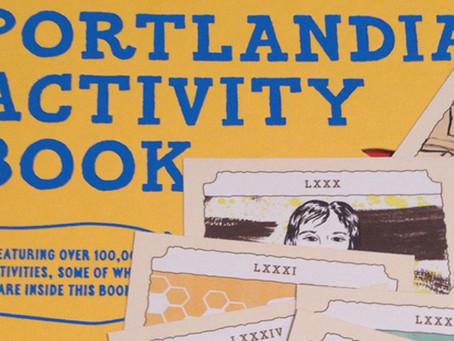 03/25/2014: Portlandia Activity Book