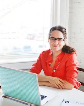 Janine Vangool in her office (1)